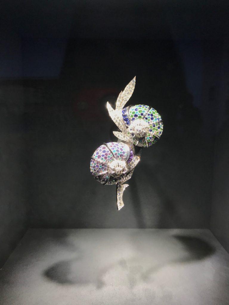 Animal Brooch displayed in Noah's Ark - Van Cleef & Arpels High Jewelry Collection presentation designed by Robert Wilson