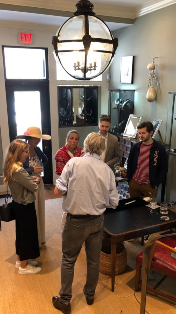 Gem X NYC members at Simon Teakle jewelry event
